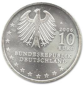 10 Euros Ville De Dresde Allemagne République Fédérale Numista