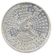 10 euros Traité de Rome -  revers