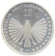 10 euros Traité de Rome – avers