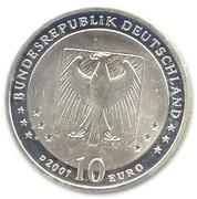 10 euros Wilhelm Busch – avers
