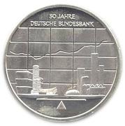 10 euros Banque fédérale allemande – revers