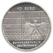 10 euros Banque fédérale allemande – avers