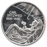 10 euros Carl Spitzweg – revers