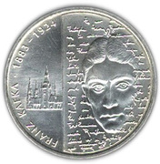 10 euros Franz Kafka – revers