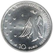 10 euros Franz Kafka – avers