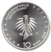 10 euros Bateau Gorch Fock – avers