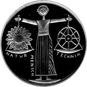 10 deutsche mark Exposition universelle 2000 à Hanovre – revers