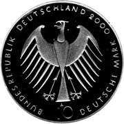 10 deutsche mark Exposition universelle 2000 à Hanovre – avers
