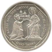 10 deutsche mark Dom Aachen – revers