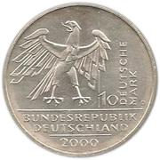 10 deutsche mark Unité allemande – avers