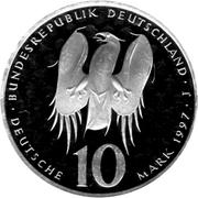 10 deutsche mark Philipp Melanchthon – avers