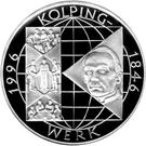 10 deutsche mark Kolpingwerk – revers