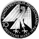10 deutsche mark Kolpingwerk – avers