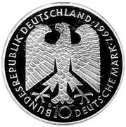 10 deutsche mark Heinrich Heine – avers