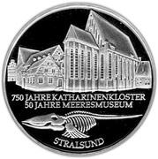 10 deutsche mark Stralsund – revers