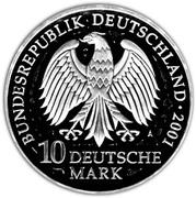 10 deutsche mark Stralsund – avers