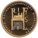 100 euros Quedlinburg – revers