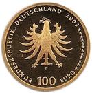 100 euros Quedlinburg – avers