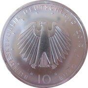 10 euros Réunification allemande – avers