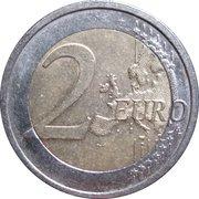 2 euros Sarre -  revers