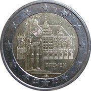 2 euros Brême -  avers