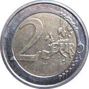 2 euros Brême – revers