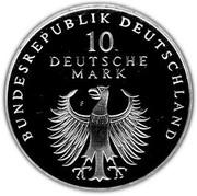 10 deutsche mark 50 ans du Deutsche Mark – avers
