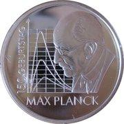 10 euros Max Planck – revers