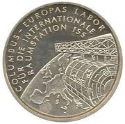 10 euros Station orbitale Columbus – revers