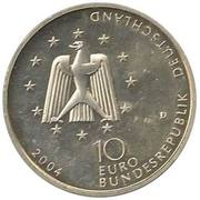 10 euros Station orbitale Columbus – avers
