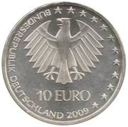 10 euros Coupe du monde d'athlétisme – avers