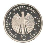 10 euros Coupe du monde 2006 (édition 2004) -  avers