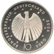 10 euros Coupe du monde 2006 (édition 2006) – avers