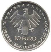 10 euros Exposition internationale de l'aviation -  avers