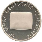 10 euros Télévision allemande – revers