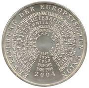10 euros Élargissement de l'UE -  revers