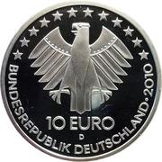 10 euros Chemins de fer – avers