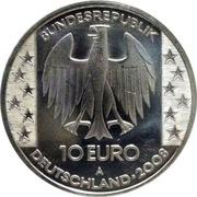 10 euros Disque de Nebra – avers