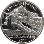 10 euros Ski alpin – revers