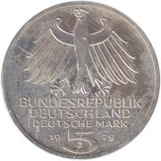 5 deutsche mark - Institut archéologique allemand -  avers