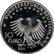 10 euros Till l'espiègle (cupronickel) -  avers