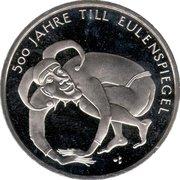 10 euros Till l'espiègle (cupronickel) – revers