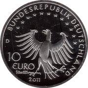 10 euros Till l'espiègle (argent) – avers