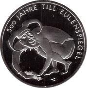 10 euros Till l'espiègle (argent) – revers
