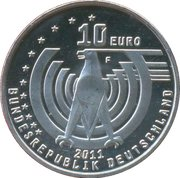 10 euros Automobile (cupronickel) – avers