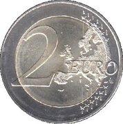 2 euros Bavière – revers