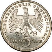 5 deutsche mark - Friedrich von Schiller – avers
