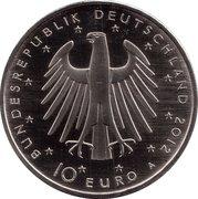 10 euros Frédéric II de Prusse (cupronickel) – avers