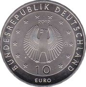 10 euros Welthungerhilfe (cupronickel) – avers