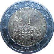 2 euros Rhénanie-du-Nord-Westphalie – avers